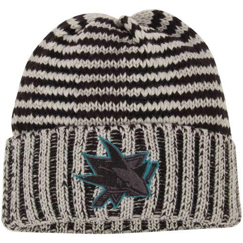 San Jose Sharks šedá Crosscheck Cuffed Knit čepice - NHL Shop sk -  FanObchod.cz 281f04e820