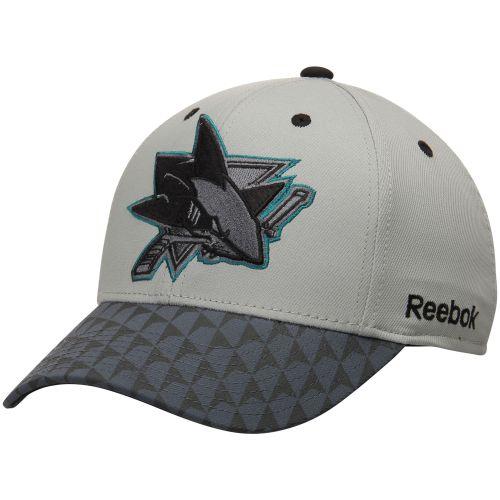 San Jose Sharks šedá Crosscheck 2-Tone Structured Flex kšiltovka - NHL Shop  sk - FanObchod.cz 90055962e0
