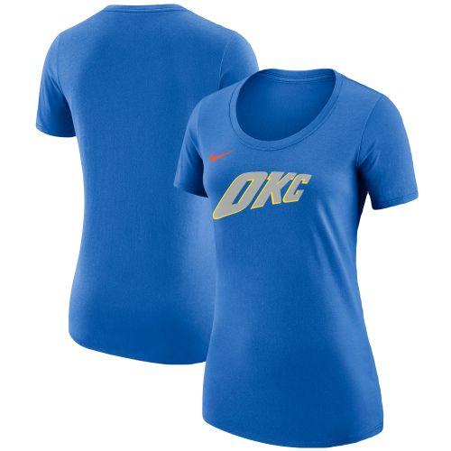 Dámské Oklahoma City Thunder modré City Edition Essential Team Performance  triko - NBA Shop sk - FanObchod.cz d2d830fc85