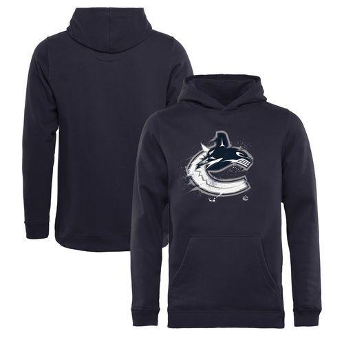 Youth Vancouver Canucks Navy Splatter Logo Pullover Hoodie - NHL Shop  Europe - FanObchod.cz 8512ab185