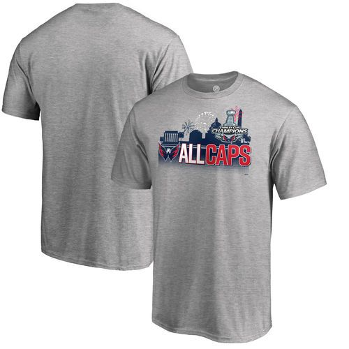 Washington Capitals Heather Gray 2018 Stanley Cup Champions Change on the  Fly Celebration T-Shirt - NHL Shop Europe - FanObchod.cz c2954b343