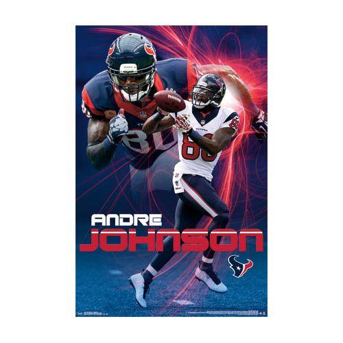3fe91a815 Houston Texans Poster Andre Johnson - NFL Shop Europe - Football -  FanObchod.cz
