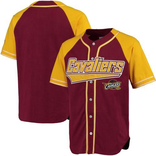 a5451f2ace7c8 Cleveland Cavaliers vínový/žlutý Baseball dres - NBA Shop sk - FanObchod.cz