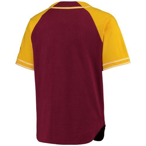 46019bae62bc6 Cleveland Cavaliers vínový/žlutý Baseball dres - NBA Shop sk ...