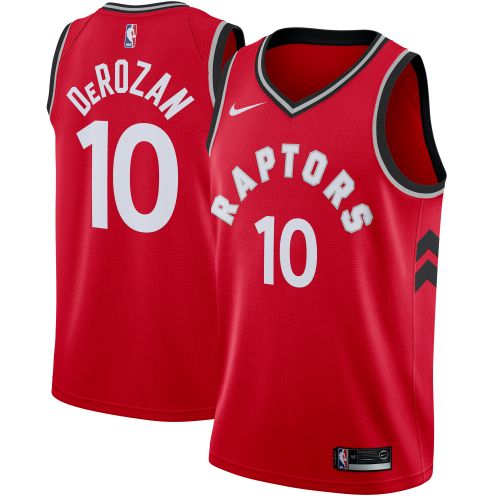 lowest price 33bc0 ee3f1 Toronto Raptors DeMar DeRozan Red Swingman Jersey - Icon ...