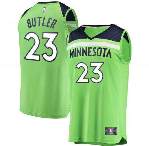 timeless design a4b5b 66757 Minnesota Timberwolves Jimmy Butler Neon Green Fast Break ...