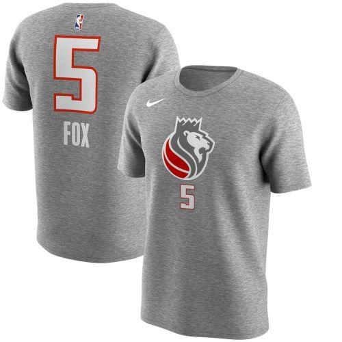hot sale online e14ee 15806 Sacramento Kings De'Aaron Fox Gray City Edition Name ...