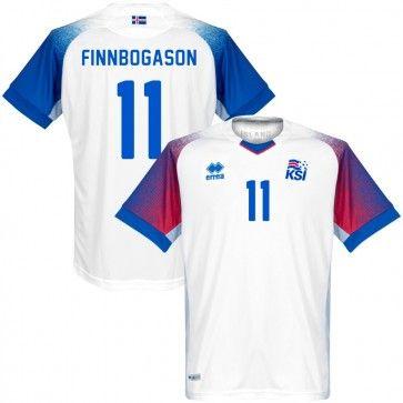 66421912b5f Island Away Shirt 2018 2019 + Finnbogason 11 - Soccer Shop Europe -  FanObchod.cz
