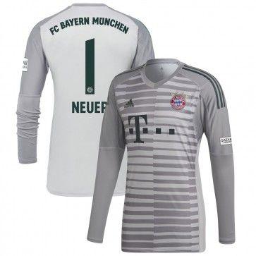 buy online 6bd58 a2d01 Bayern Munich Home GK Shirt 2018 2019 + Neuer 1 - Soccer ...